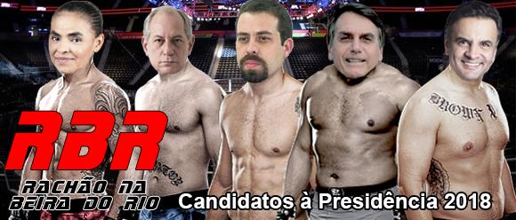 Candidatos à Presidência 2018