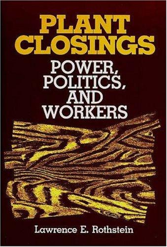 Plant closings