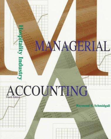 Download Hospitality industry managerial accounting