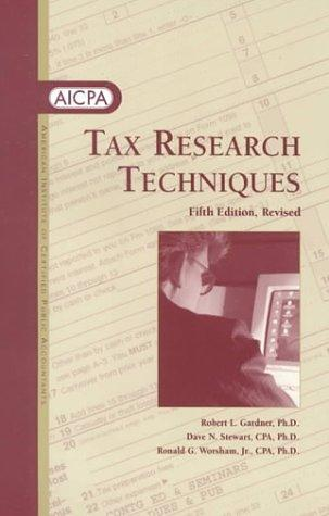 Download Tax research techniques