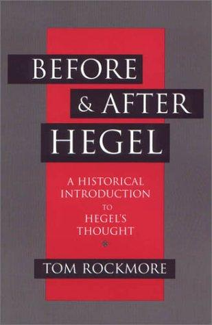 Download Before and after Hegel