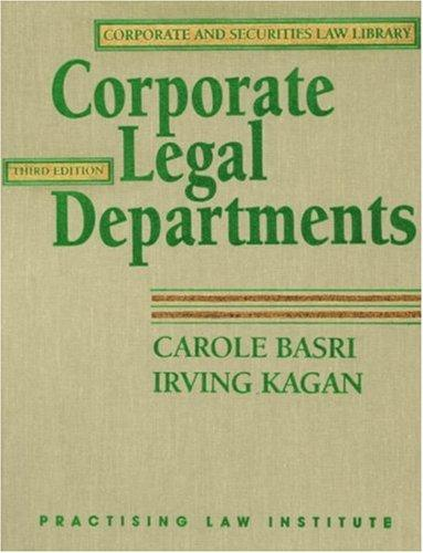 Download Corporate legal departments