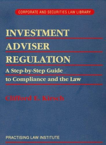 Download Investment adviser regulation