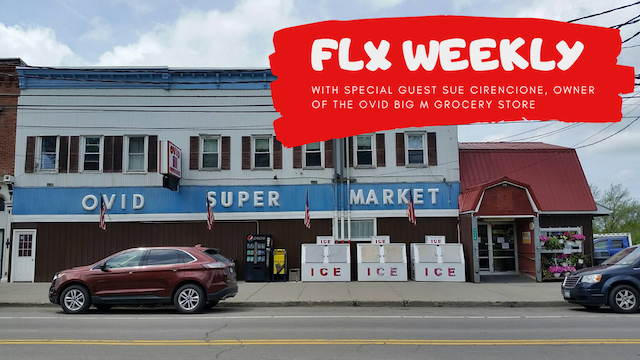 FLX WEEKLY: Sue Cerincione, the Ovid Big M & Valentine's Weekend (podcast)