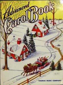 Cover of: Advanced carol book  