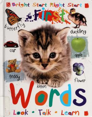 Cover of: First words | Tanya Kant