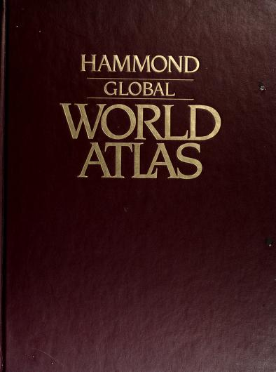 Global world atlas by Hammond Incorporated