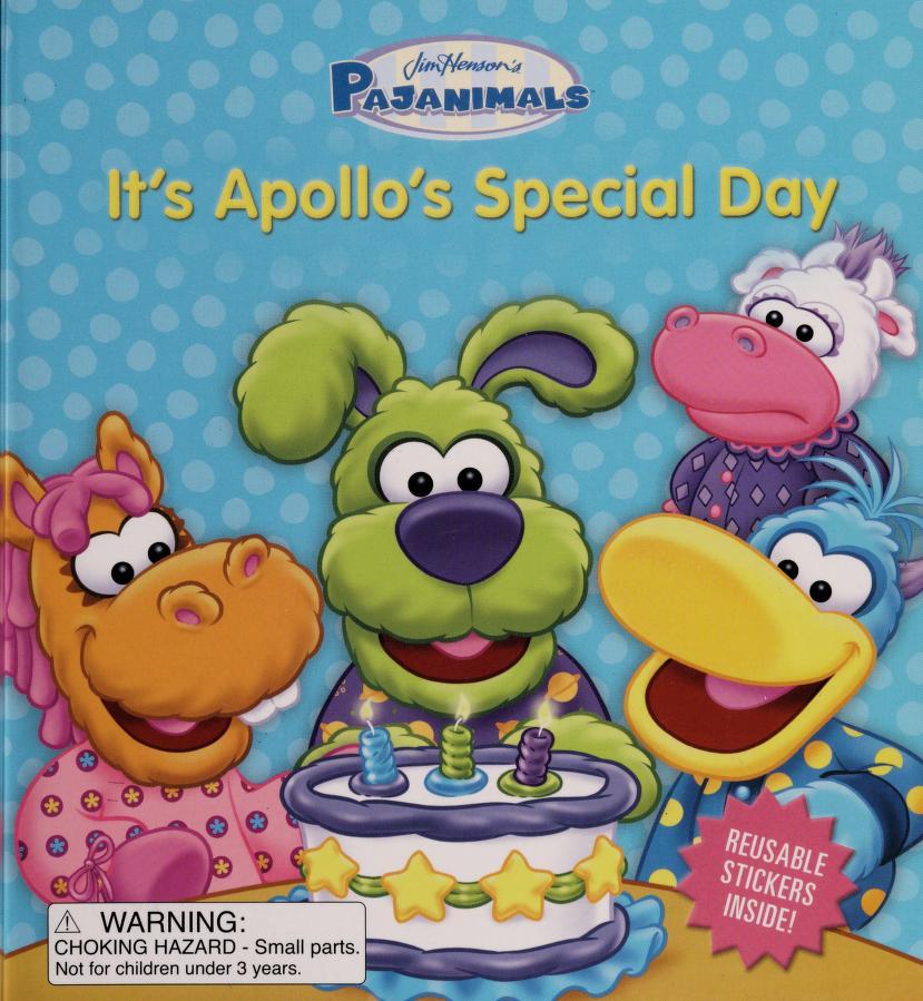 It's Apollo's special day by Michael Foulke, Jeff Muncy, Alex Rockwell