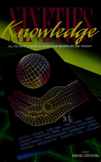 Nineties Knowledge by David Crystal
