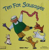 Cover of: Ten fat sausages | illustrated by Elke Zinsmeister.