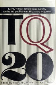 Cover of: TQ 20 | edited by Reginald Gibbons and Susan Hahn.