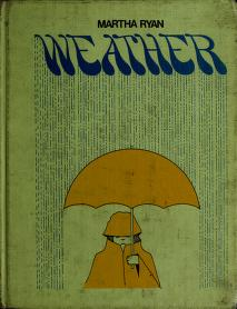 Cover of: Weather | Martha Ryan