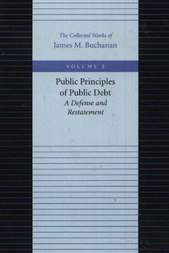 Public Principles of Public Debt