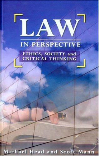 Law in perspective by
