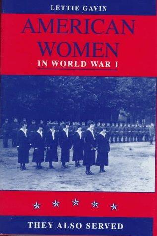 American women in World War I