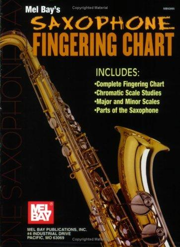 Mel Bay Saxophone Fingering Chart by William Bay