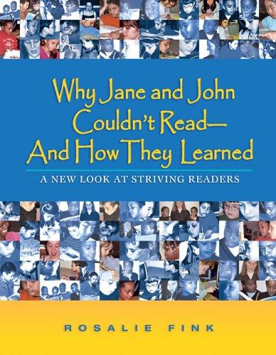 Why Jane and John couldnt read and how they learned by Rosalie Fink