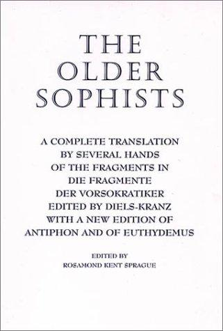 The older Sophists by